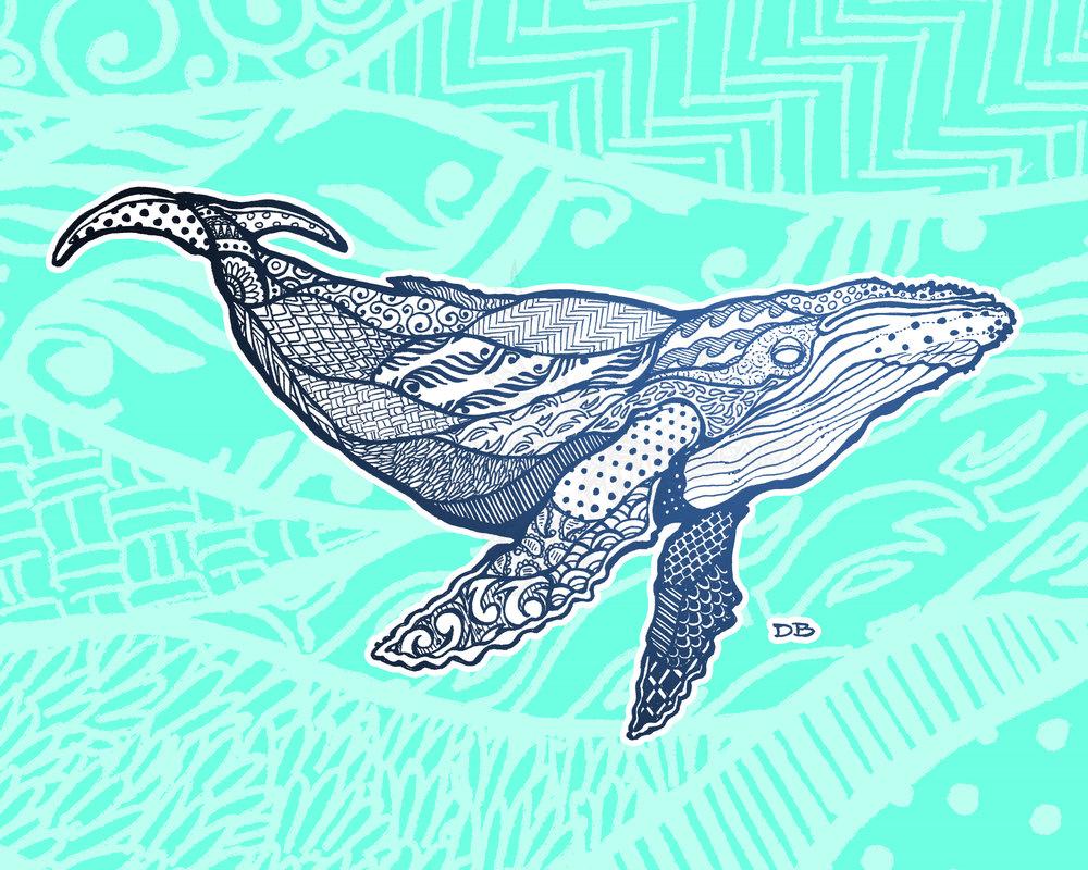 Zen Humpback Whale