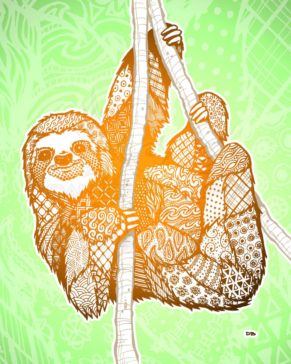 Zen Sloth