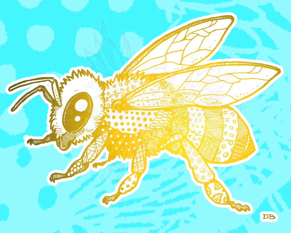Zen Honey Bee