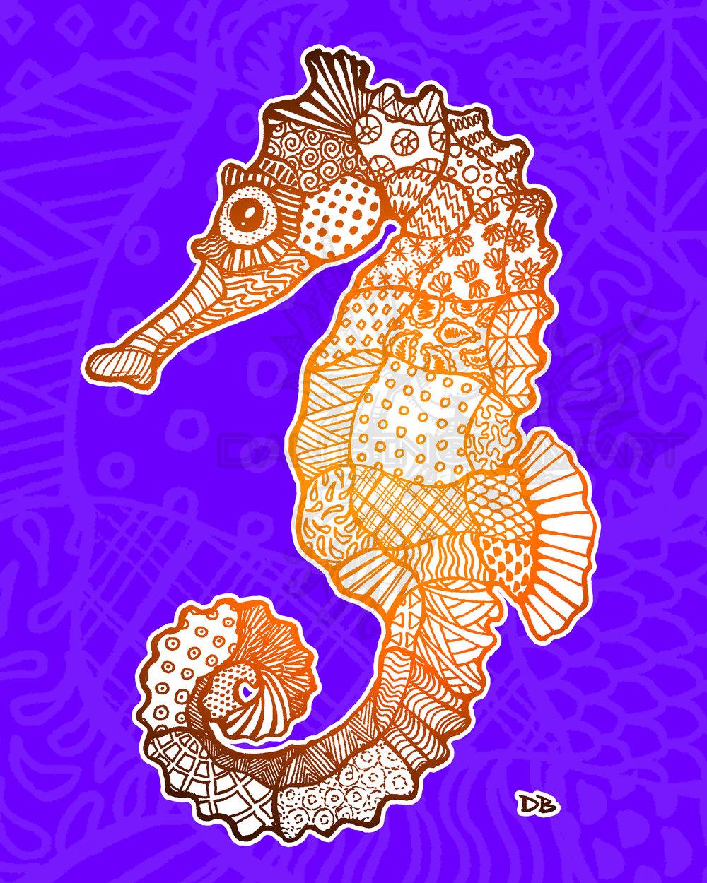 Zen Sea Horse