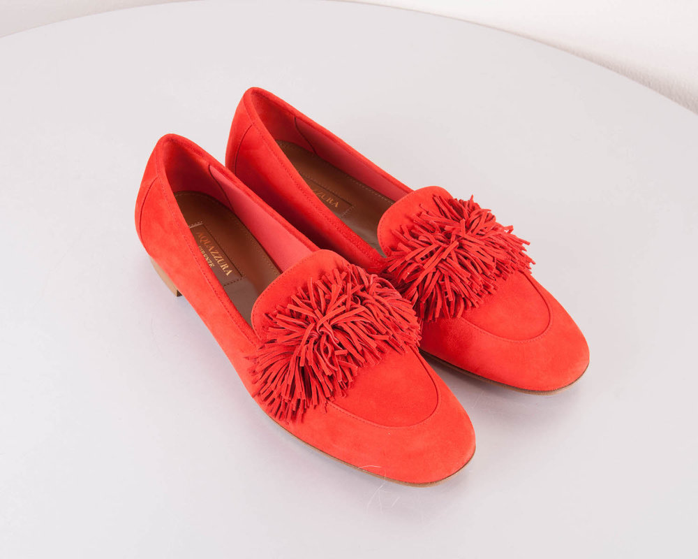Shoes: Aquazzura Wild Thing loafer