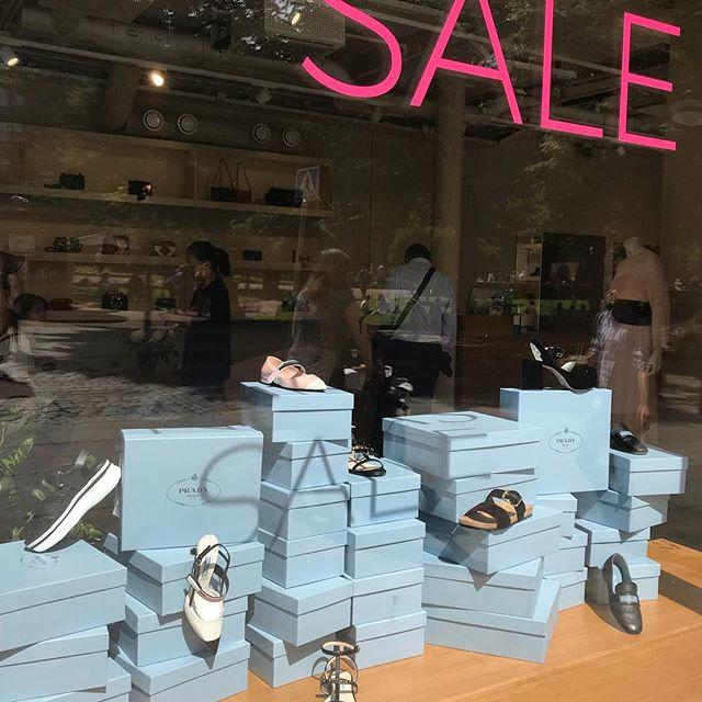 The Summer Sale continues with more new additions! 🌿🌸 #ninashelsinki #prada #ss18 #summersale #galleriaesplanad