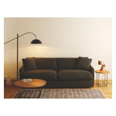 If your on a budget but still want a cool stylish lounge how about this sofa, then dress it with a splash of colour. This 3 seater Sofa is called Colin and you could have a massive saving of £705.00 amazing discount.   http://www.habitat.co.uk/colin-charcoal-fabric-3-seater-sofa-348855