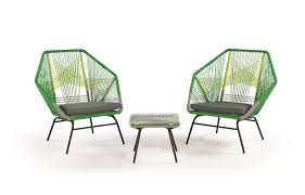 My type of garden furniture. http://www.made.com/copa-outdoor-lounge-set-citrus-green