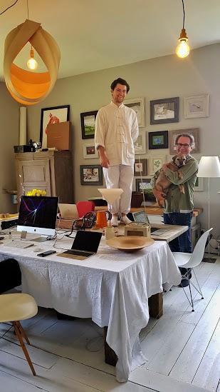 Felix and Alex @ the Kemp office.
