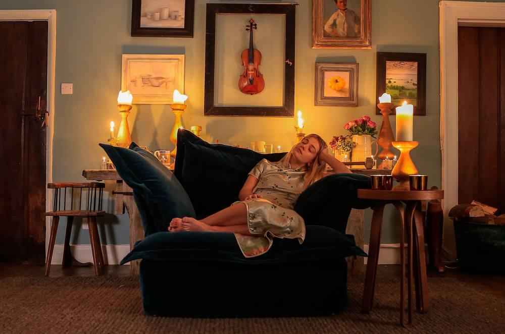 Velvet Teal Armchair by Maker & Son