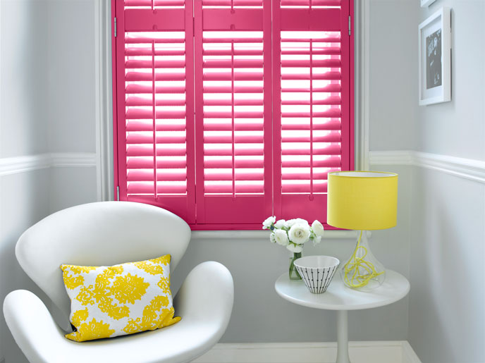 Photo by Painthouse  Shutters by California Shutters  Shutters in Ada walls in Thor