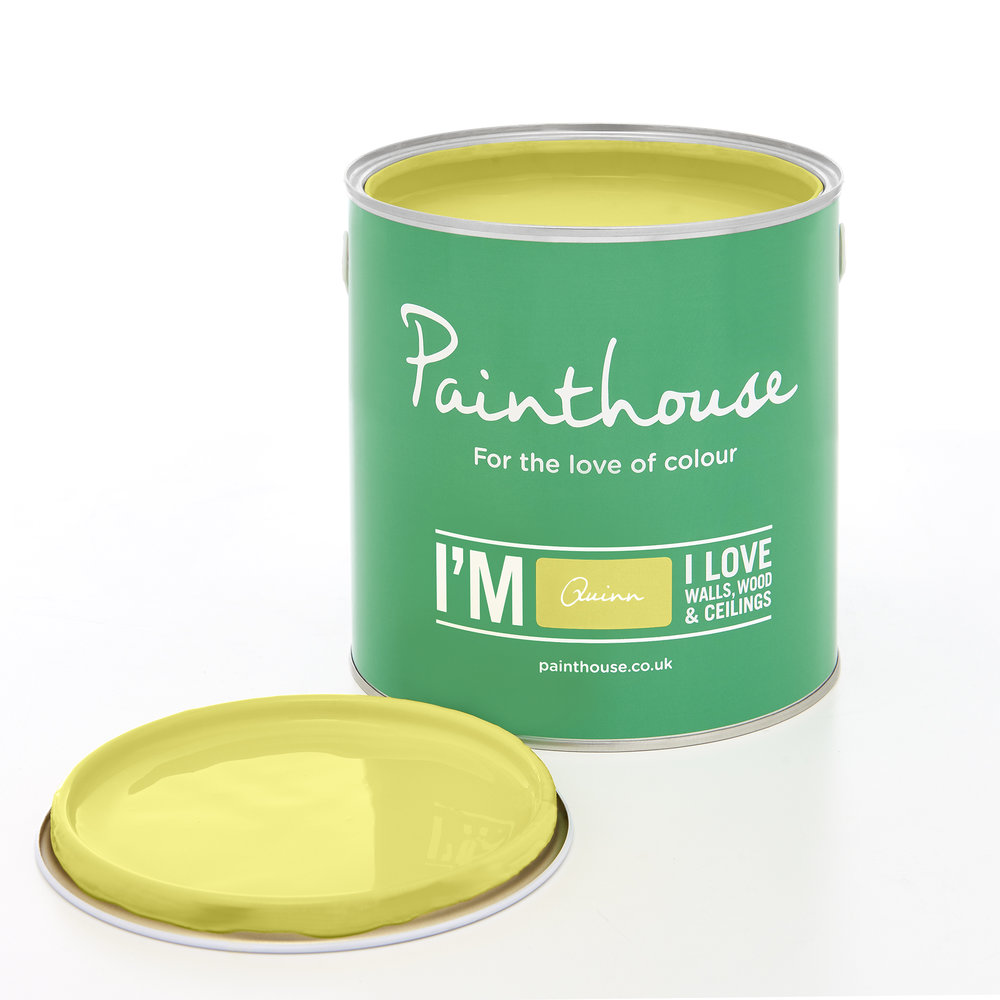 Quinn - From the Pastels Palette…….Using a Yellow colour within your interiors is Friendly, Cheerful and Warm.Available from Atom Paint House