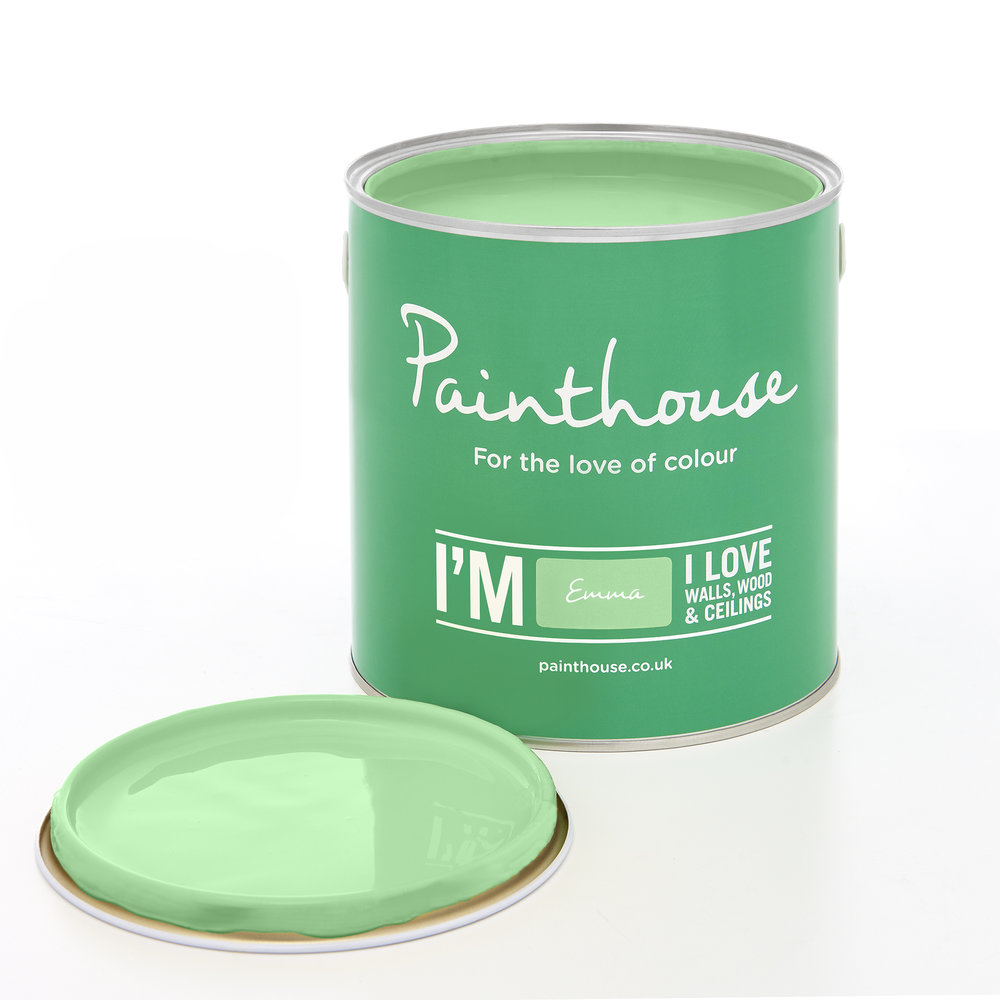Emma - From the Fresh Palette…….Using a Green colour within your interiors is Natural, Healthy and PeacefulAvailable from Atom Paint House