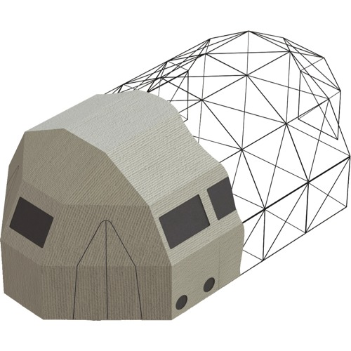 Trailer Logic Model 4A Shelter