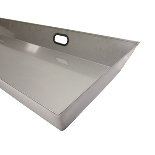 "Mortuary Response Solutions 6"" Stainless Cadaver Storage Trays"