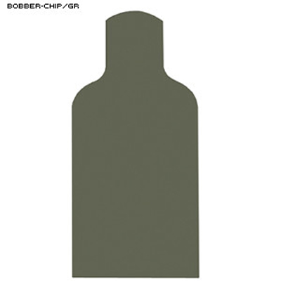 Chipboard Military E-Silhouette Bobber Target