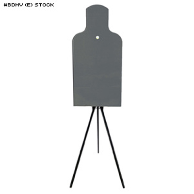 LET Steel Bobber E-Silhouette Target and Tripod Stand