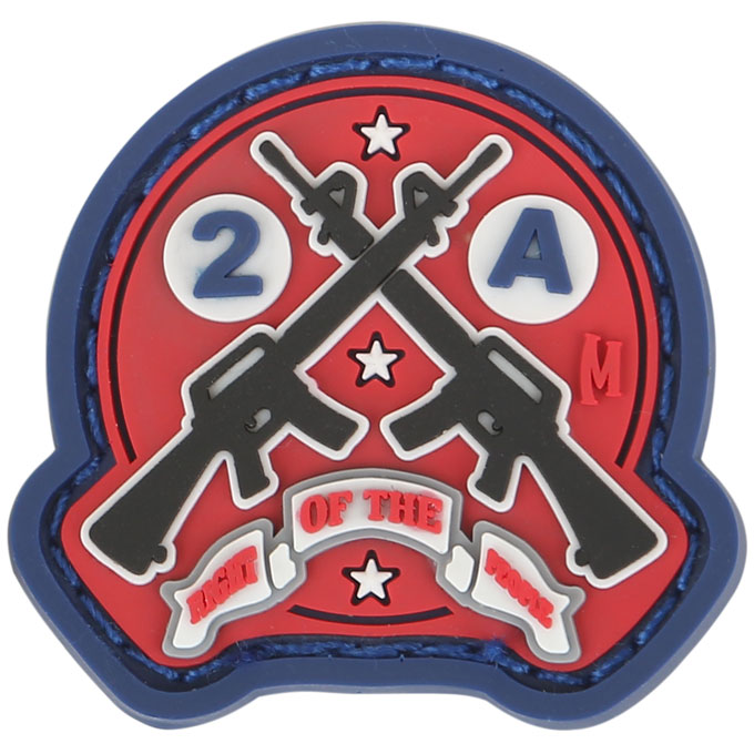 AR15 2A Patch