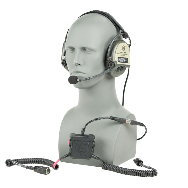 Liberator III LITE Secure Dual-Comm Tactical Headset with Integrated Digital Hearing Protection