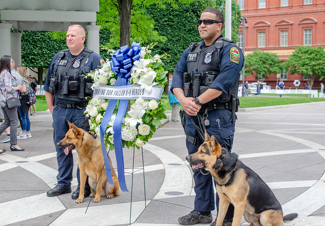 Photo taken by National Law Enforcement Officers Memorial Fund via  Flickr