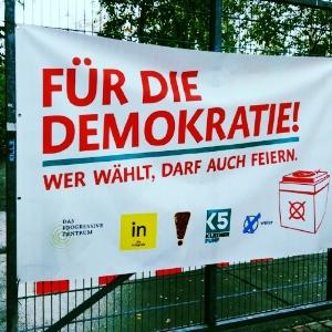 Für die Demokratie