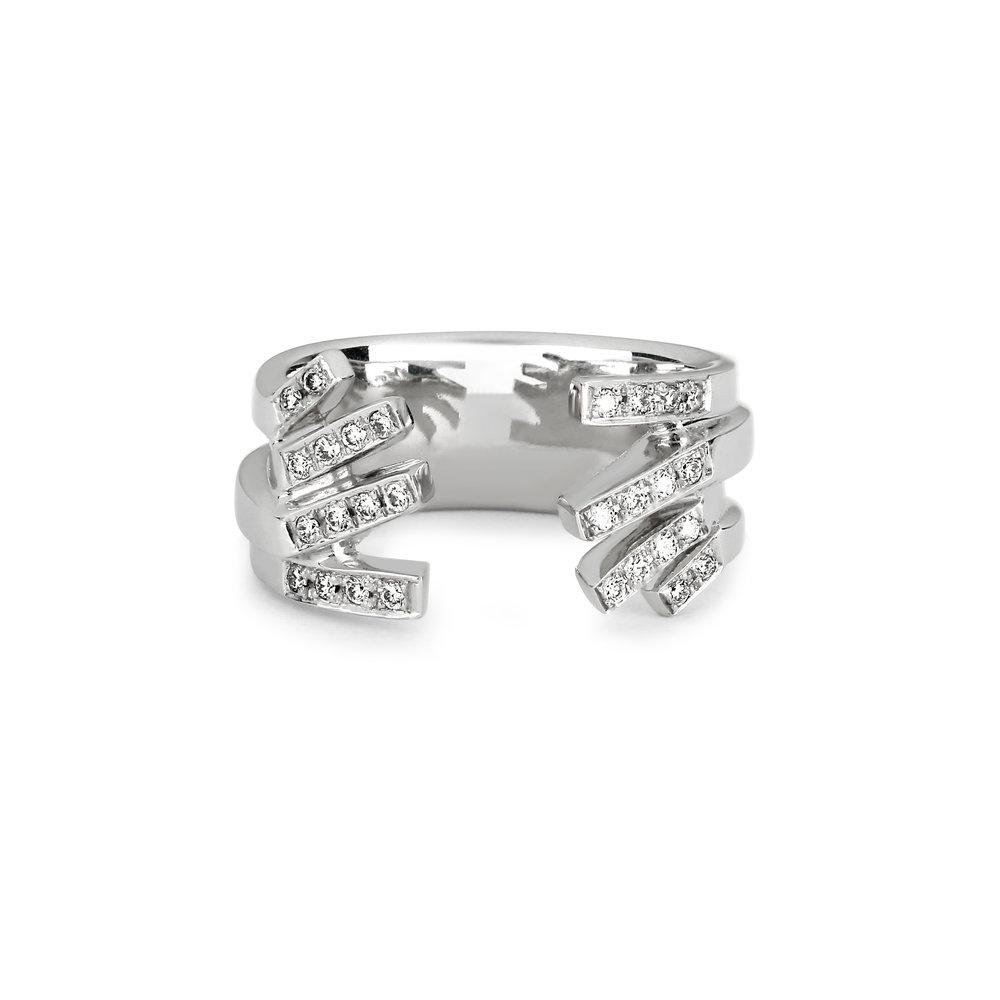 State Property Chromatic Interlude Vibrato Gold Diamond Ring