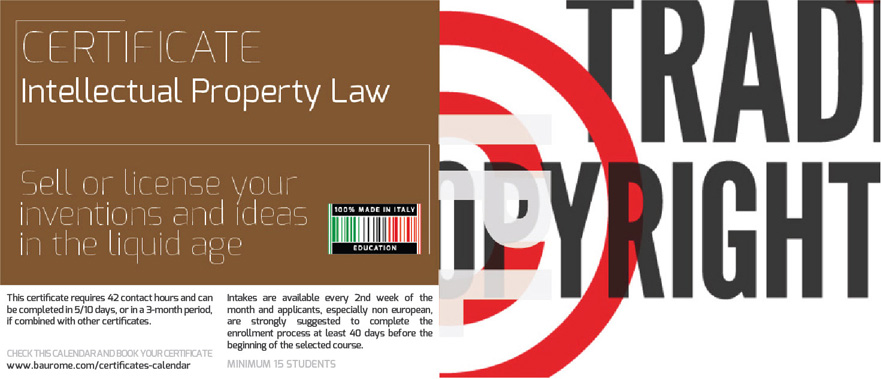 INTELLECTUAL PROPERTY LAW   COURSE