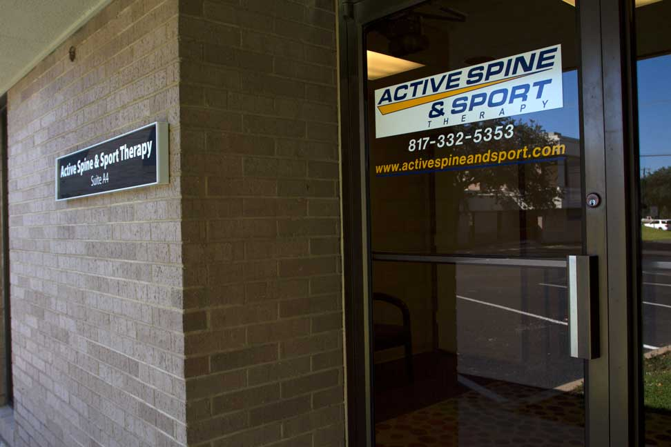 Active Spine & Sport Therapy entrance