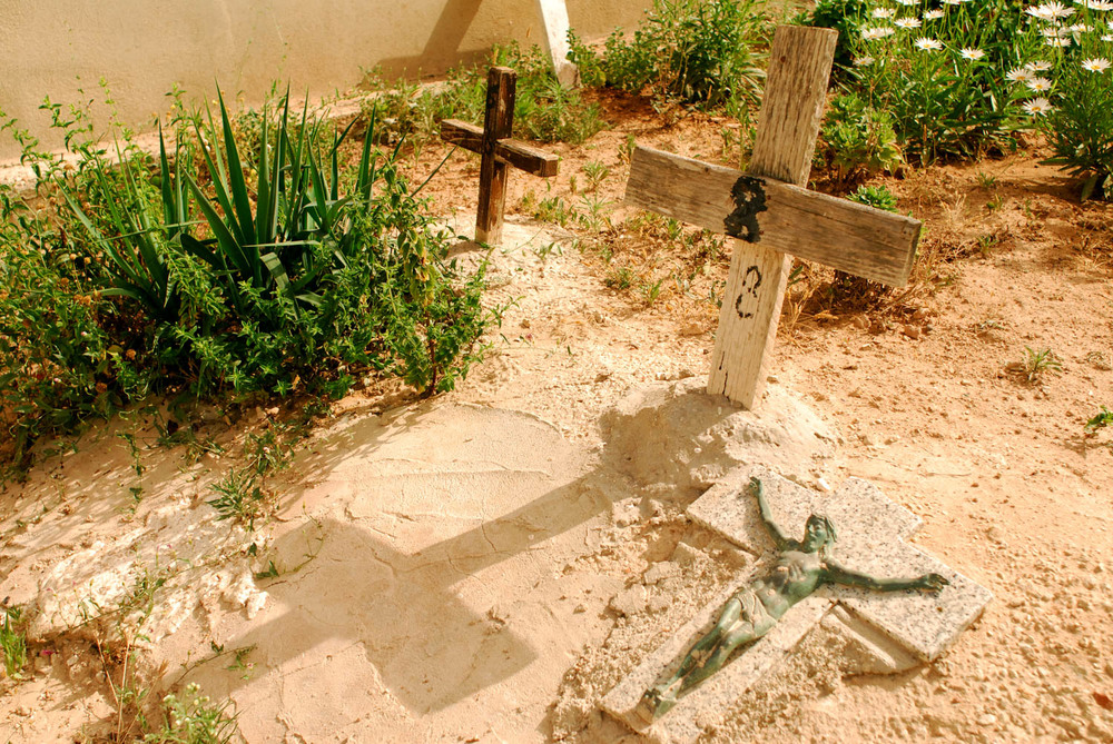Sicily - Illegal Immigration - Lampedusa Cemetry