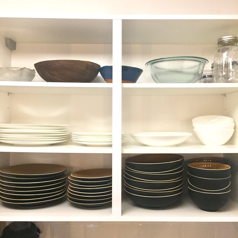 Drool Worthy Dishes - I have a set of dishes for meat and one for dairy and I love them both. They're from Crate and Barrel and...ya, I can go on for days.