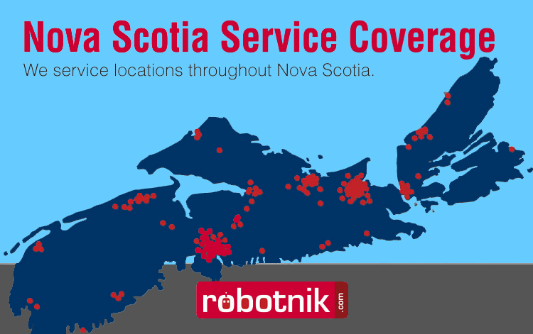 Robotnik Coverage in Nova Scotia