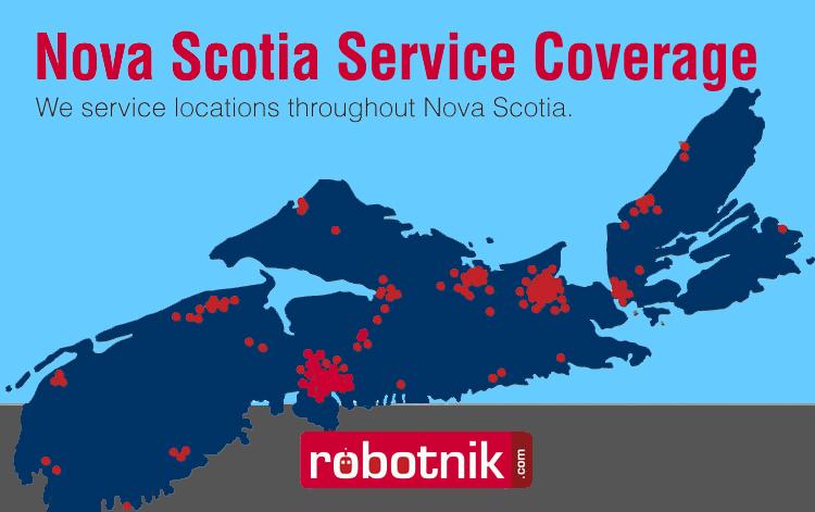 Robotnik Coverage in Nova Scotia