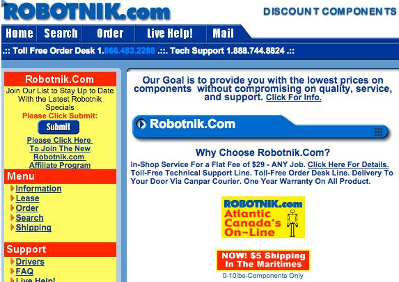 Robotnik 2004