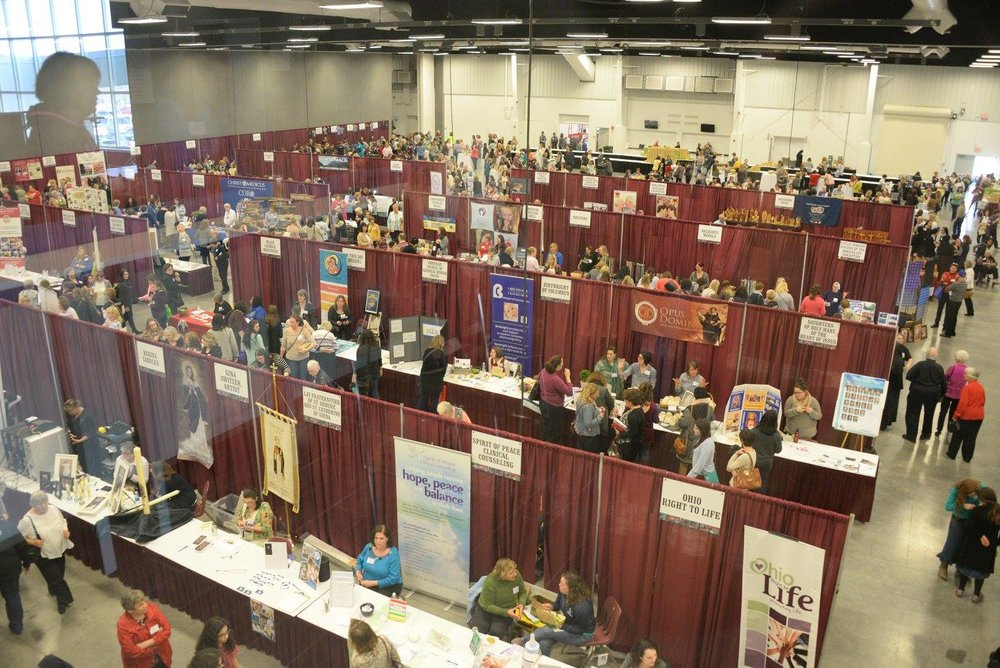 The varied and wonderful vendors at the Conference.  Photo by Tomorrow's Memories by Christi