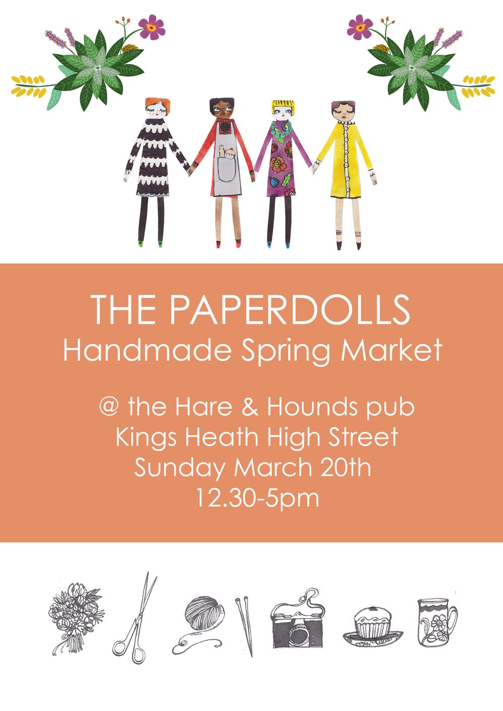 Paperdolls Spring Market