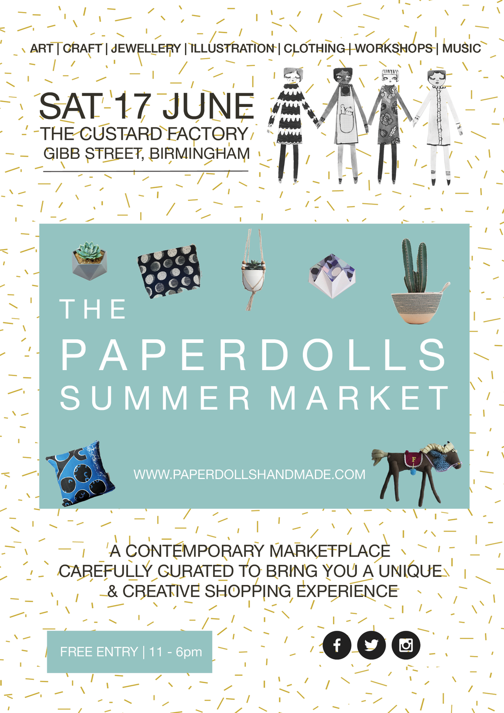 The Paperdolls Summer Market 2017