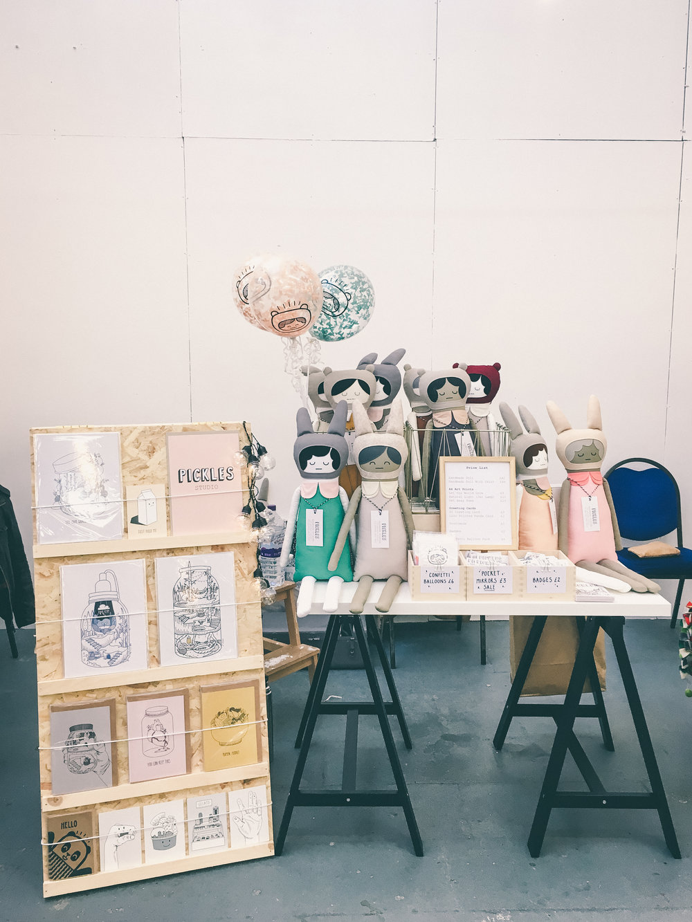 The Paperdols Christmas Market 2017
