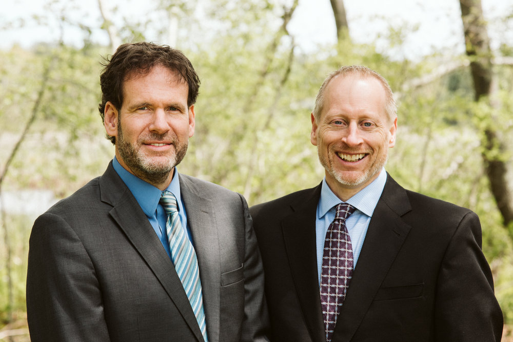 Shareholders James R. Knudsen and David J. Burbridge