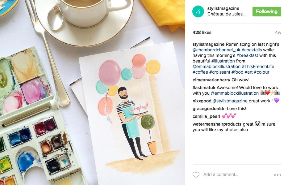 Stylist magazine emmablock