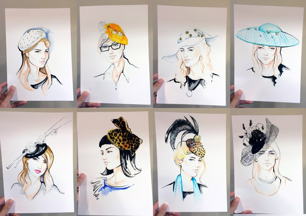 Live Portraits by Willa Gebbie