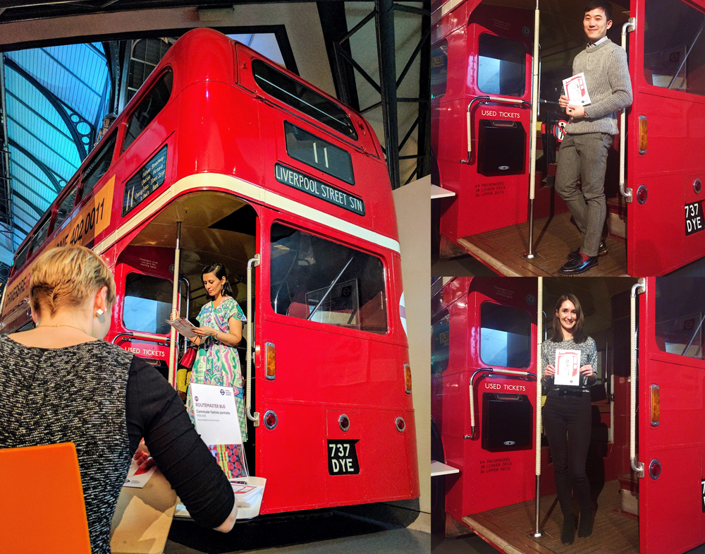 Live Fashion Illustration with London Transport Museum