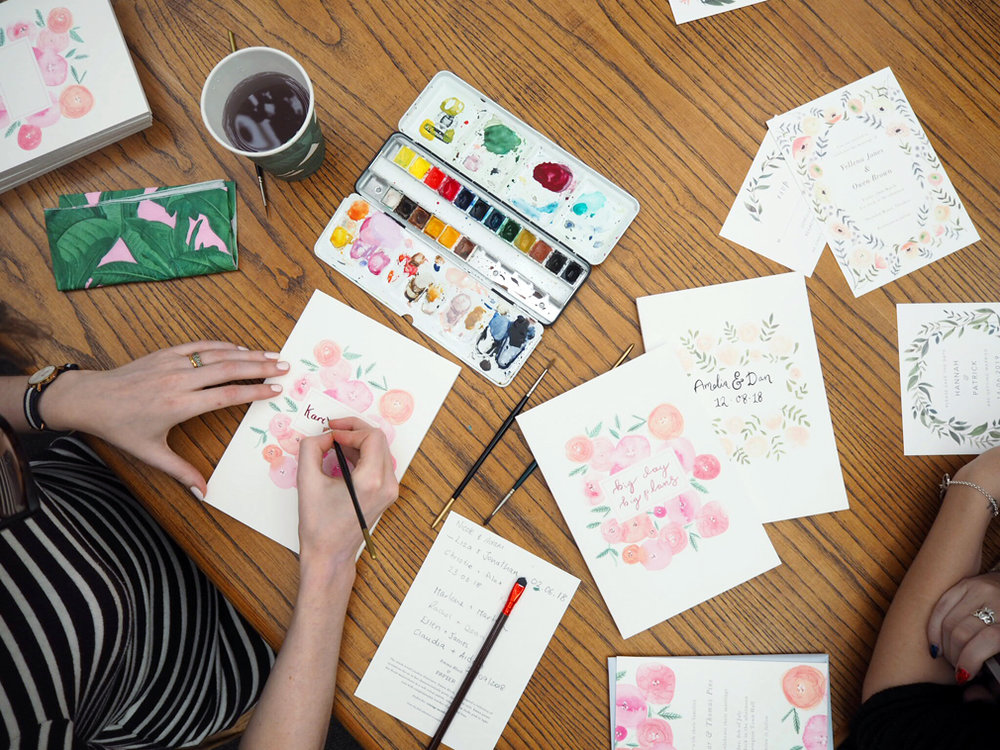 emma block papier hand lettering