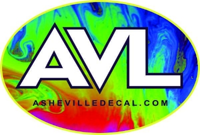 Asheville Decal