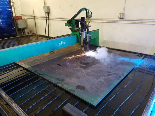 s lockformer x vulcan ebay hypertherm plasma cutter table item burn p