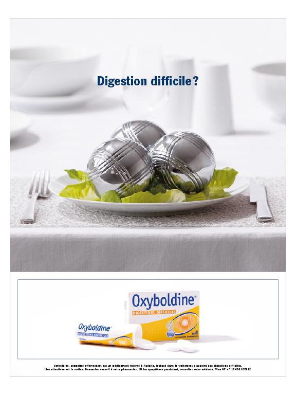 Affichage Oxyboldine.