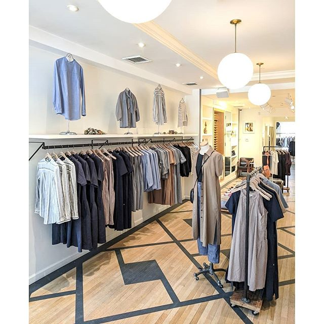 A look inside #StevenAlanBoston featuring some of our favorite styles of the season. Check out our stories for more must-haves! . #SAFieldTrip #Boston #Style #Womenswear #Menswear #Fashion #OOTD #StevenAlan #Lemaire #LeBonShoppe #MaisonLouisMarie #1509 #DemyLee