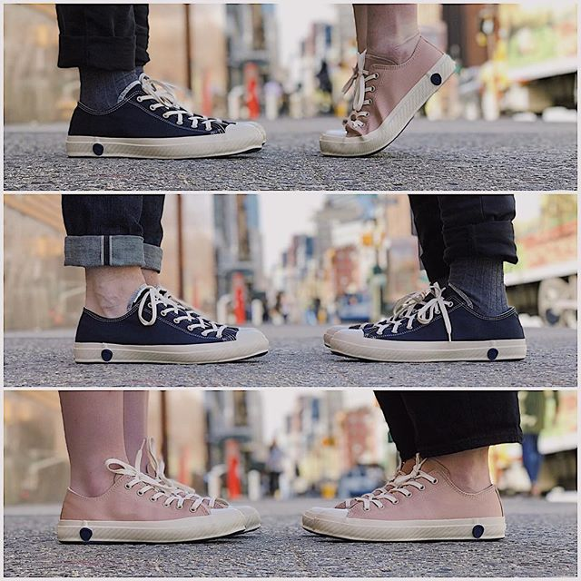 New @shoeslikepottery styles have just arrived in exclusive collaboration with Steven Alan. Get your hands on them in store at #StevenAlanTribeca! . #SAfieldtrip #StevenAlan #shoes #shoeslikepottery #slp #love #fashion #nyc #newyork #spring #pink #blue