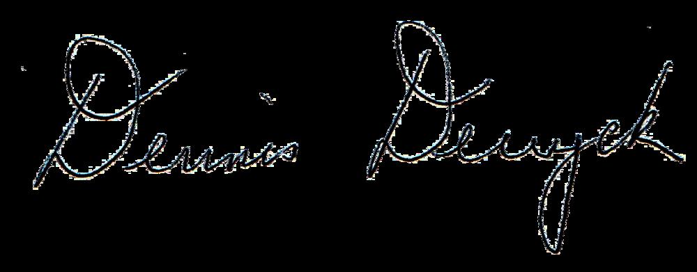 Dennis signature