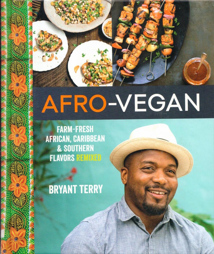 Want a  FREE , signed copy of Afro-Vegan by renowned chef and food justice activist, Bryant Terry?   Refer a friend t o sign-up for Farm Share by  Wednesday, January 31st.  When they sign-up,  they must mention your name  in the comments section.     This cookbook is your gateway to whipping up fabulous African, Carribean, and Southern recipes like a pro.