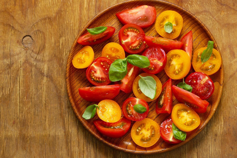 Corbin Hill Food Project — Oregano Marinated Tomato Salad
