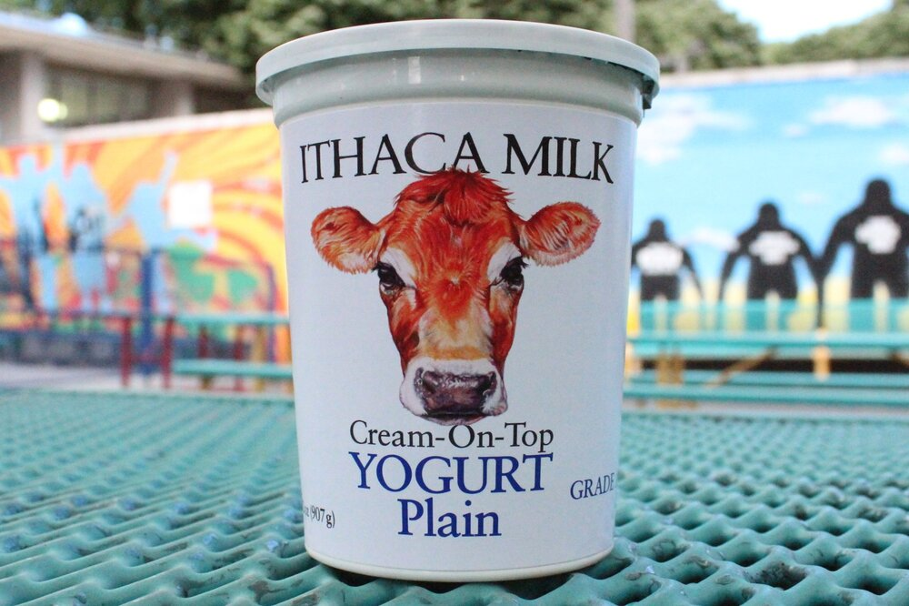 1 qt. Ithaca Milk Yogurt- $5