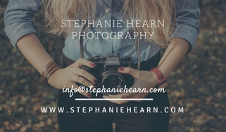 photographer business card example