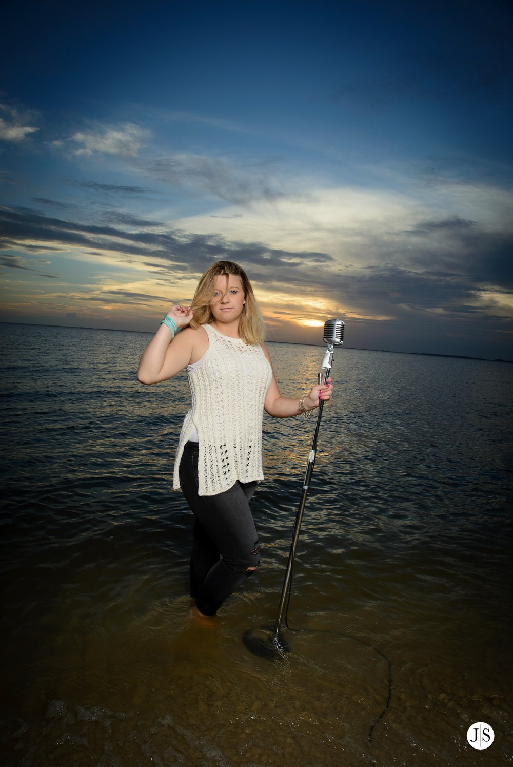 senior-portraits-beach-sunset-salisbury-music-singer-guitar-hat-maryland-photo 11.jpg