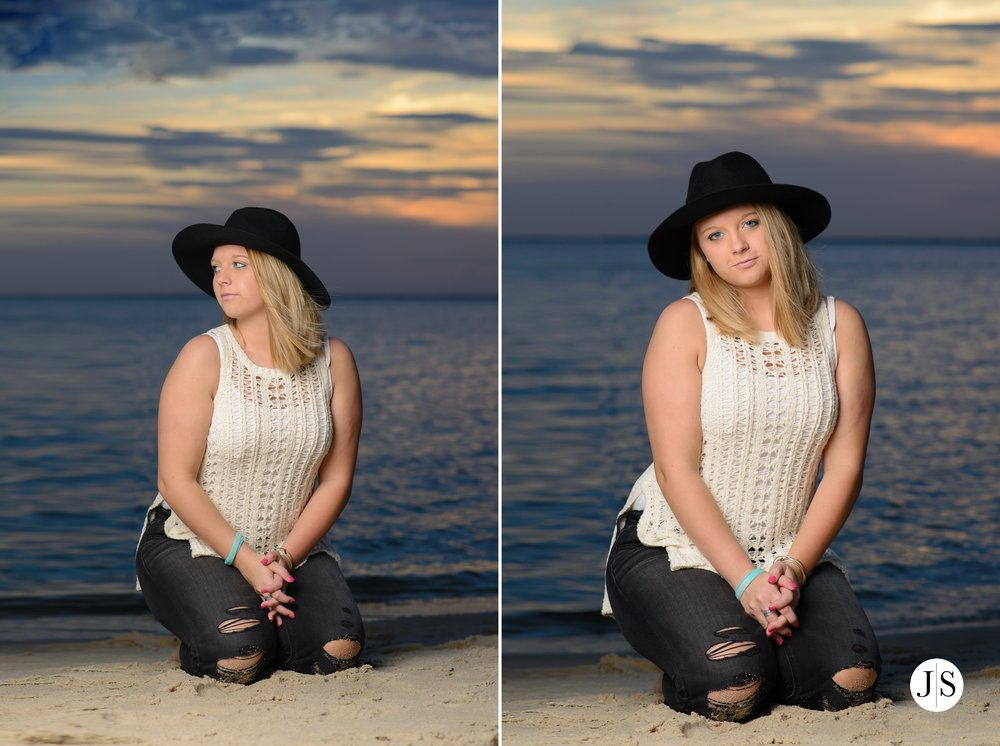 senior-portraits-beach-sunset-salisbury-music-singer-guitar-hat-maryland-photo 16.jpg